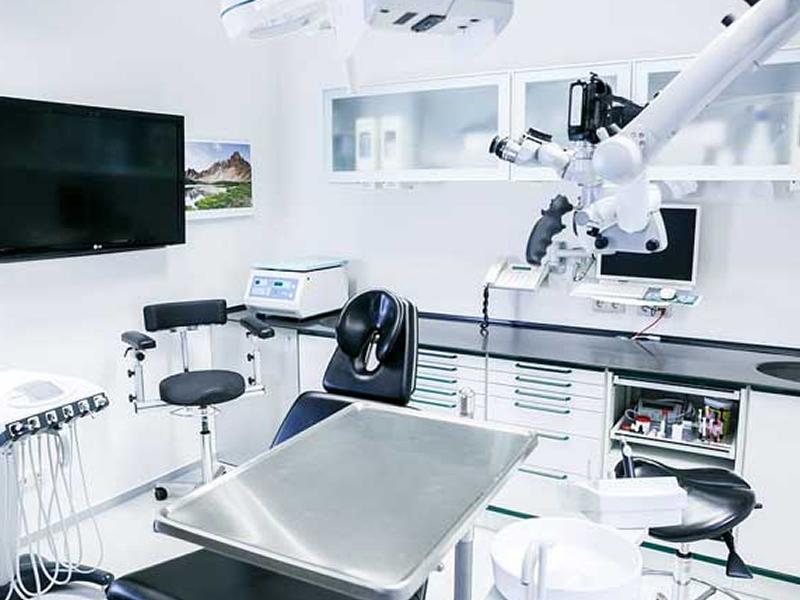 Cadeira consultório odontológico