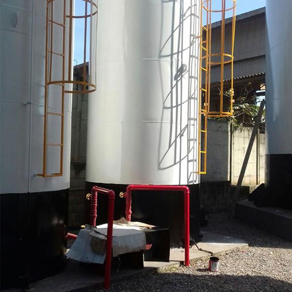 Caixa d`água para indústria