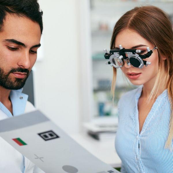 Clínica de exame de vista