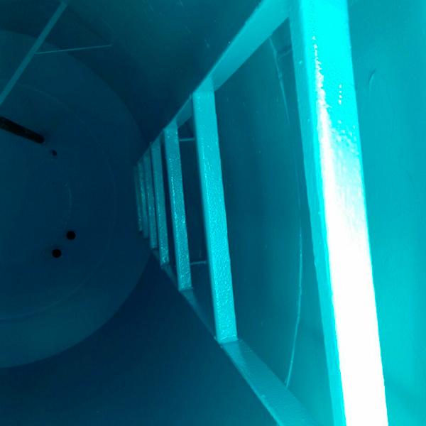Higienização de caixa d água