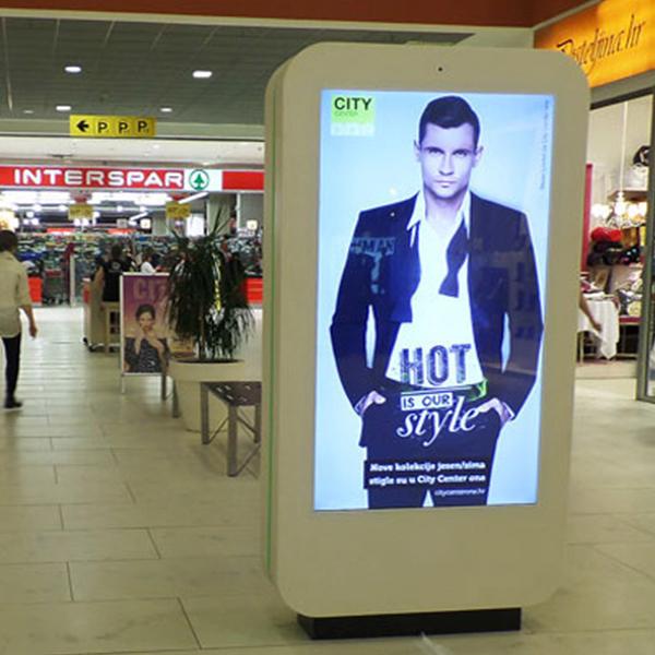 Publicidade em Monitor Shopping